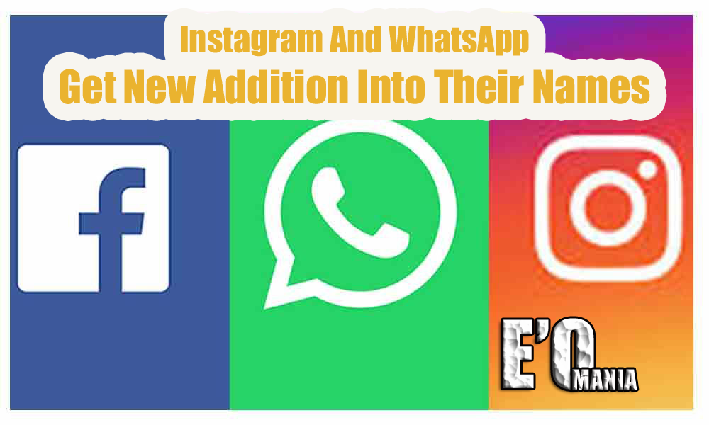 whatsapp facebook instagram entertainomania
