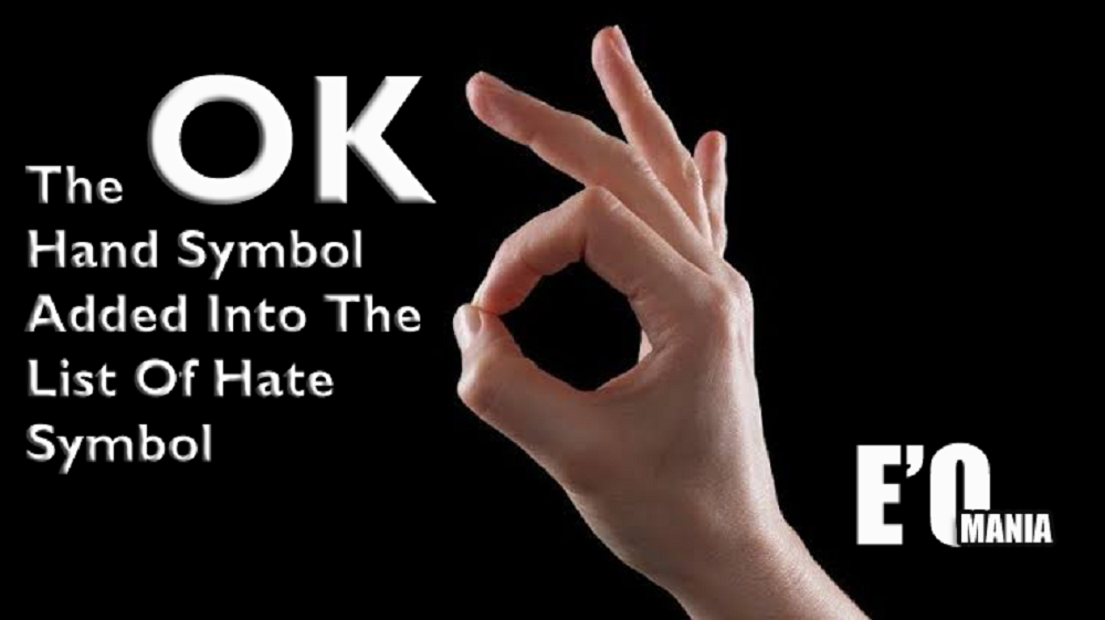 The OK Hand Symbol Entertainomania
