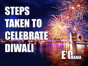 diwali steps entertainomania