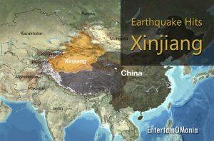Xinjiang-earthquake